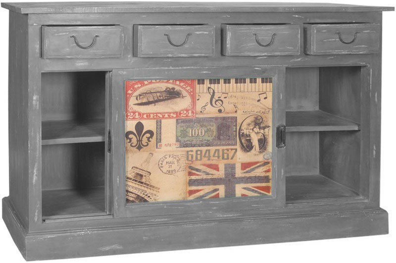 The Attic Solid Wood Free Standing Sideboard
