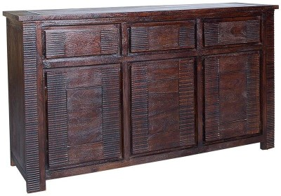 HomeTown Venus Solid Wood Free Standing Cabinet(Finish Color - Brown)