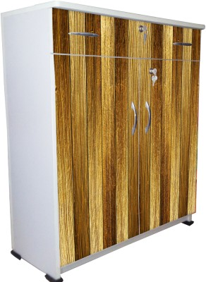 BigSmile Furniture Engineered Wood Free Standing Cabinet(Finish Color - White)