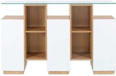 @home by Nilkamal Croissant Engineered Wood Free Standing Cabinet