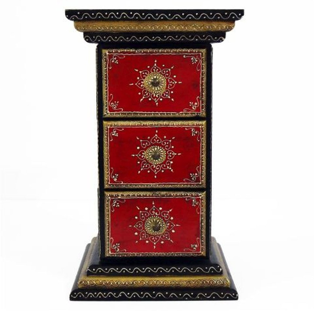 View Artlivo Solid Wood Free Standing Chest of Drawers(Finish Color - Multi) Furniture (Artlivo)
