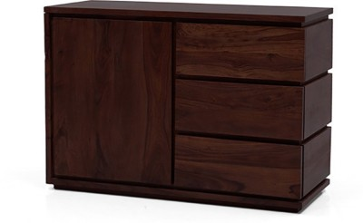 Urban Ladder Vector Solid Wood Free Standing Sideboard(Finish Color - Mahogany)