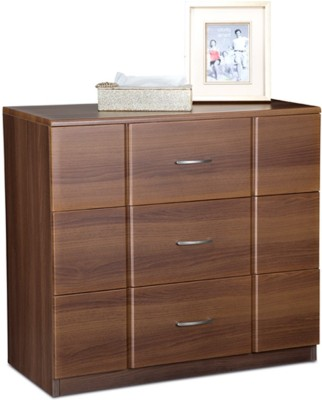 Debono Checkers Engineered Wood Free Standing Chest of Drawers