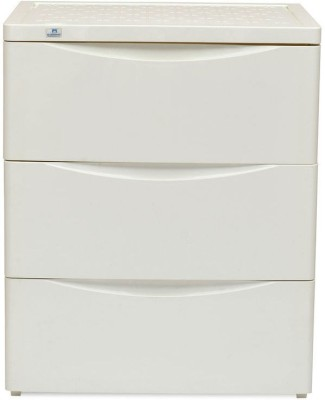 Nilkamal Chester Storage Drawer Series-43 Plastic Free Standing Chest of Drawers