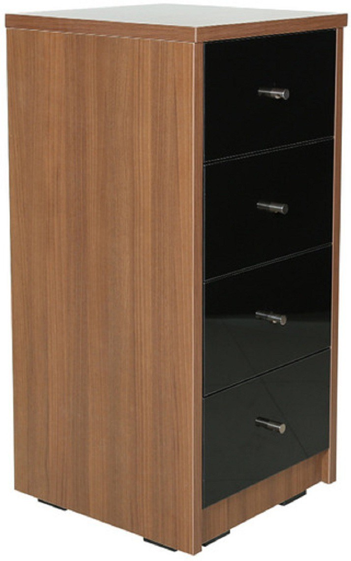 View RAWAT ROCKWOOD Engineered Wood Free Standing Chest of Drawers(Finish Color - Wallnut) Furniture (RAWAT)