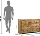 The Attic Solid Wood Free Standing Chest...