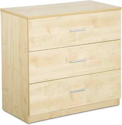 Debono Three Drawer Chester Engineered Wood Free Standing Chest of Drawers