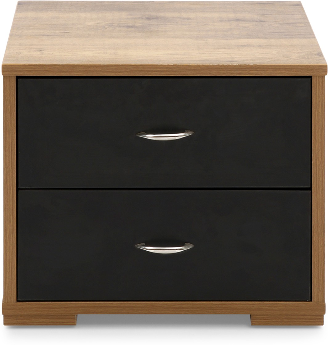 View Evok Texas Engineered Wood Chest of Drawers(Finish Color - Brown) Price Online(Evok)