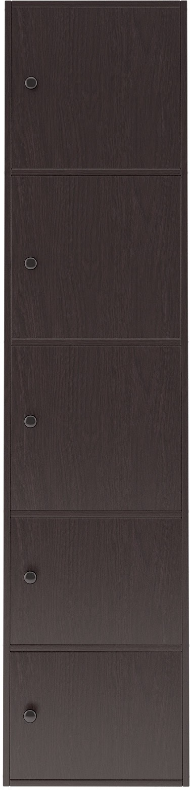 View Housefull Engineered Wood Free Standing Cabinet(Finish Color - Black) Furniture (Housefull)