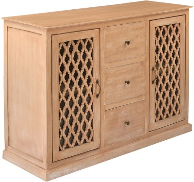 @home by Nilkamal Miraya Solid Wood Free Standing Cabinet