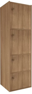 Housefull Engineered Wood Free Standing Cabinet(Finish Color - Brown)
