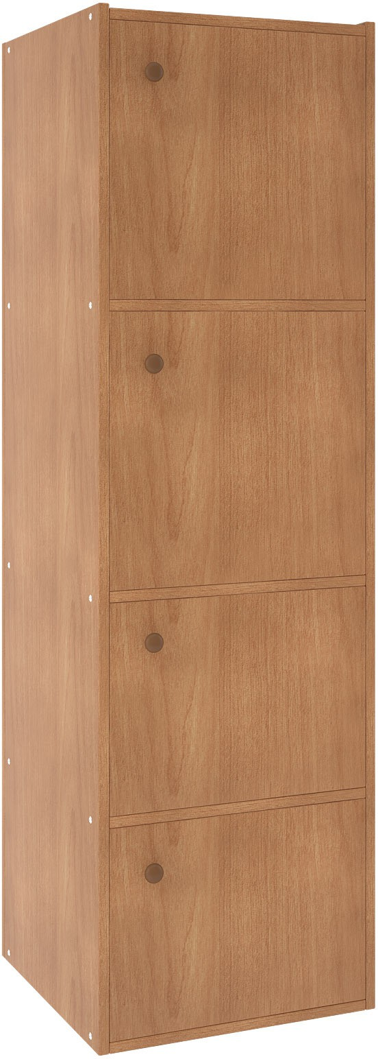 View Housefull Engineered Wood Free Standing Cabinet(Finish Color - Brown) Furniture (Housefull)