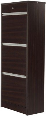 Godrej Interio Alpha Engineered Wood Free Standing Cabinet(Finish Color - Dark Walnut)