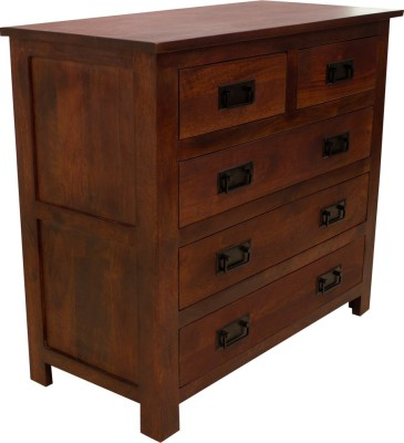 Woodpecker Hongkong Solid Wood Free Standing Chest of Drawers