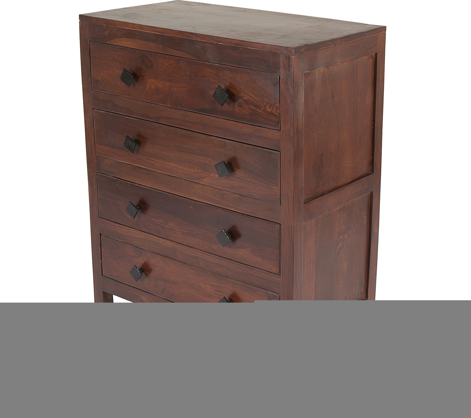 View Housefull Solid Wood Free Standing Chest of Drawers(Finish Color - Red Teak) Furniture (Housefull)