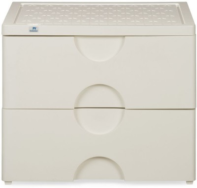 Nilkamal Chester Storage Drawer Series-32 Plastic Free Standing Chest of Drawers