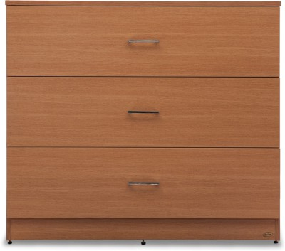 Durian Jasmine Engineered Wood Free Standing Chest of Drawers(Finish Color - Rosewood)