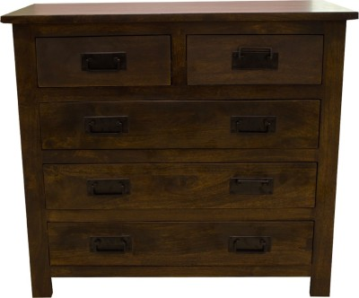 Woodpecker Shanghai Solid Wood Free Standing Chest of Drawers