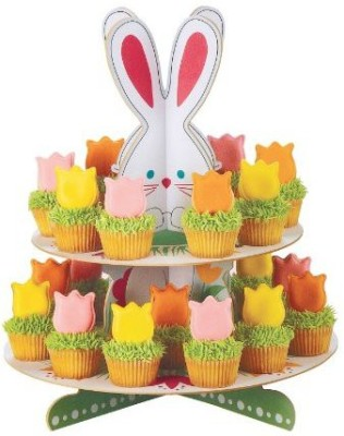 Wilton Hop N Tweet Treat And Egg Stand Paper Cake Server