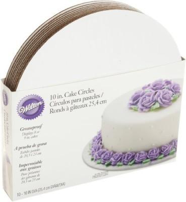 Wilton White Cake Boards Paper Cake Server
