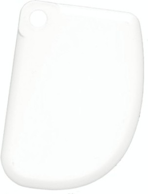 THW Dough Icing Fondant Scraper Baking Smoother & Polisher(White)