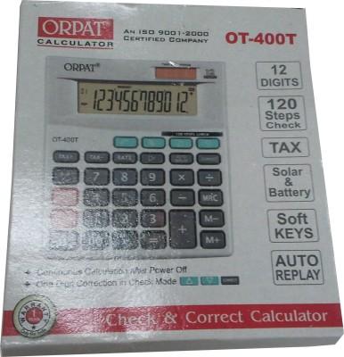 Orpat OT 400T Basic  Calculator(12 Digit)