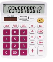 Bambalio 12 Digits Electronic Calculator(Pink) 2 Years Warranty BL-700 Basic  Calculator(12 Digit)