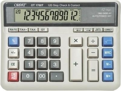 Orpat OT 1700T Basic  Calculator(12 Digit)