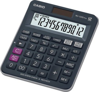 Casio MJ-120D Plus-BU Basic  Calculator