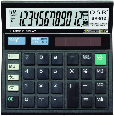 OSR SR-512 Basic  Calculator