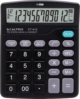 Caltrix CT-412 Basic  Calculator