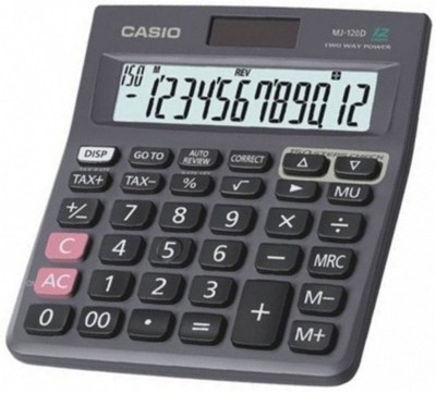 Casio MJ-120D Bulk Basic (Pack of 5) (12 Digit)