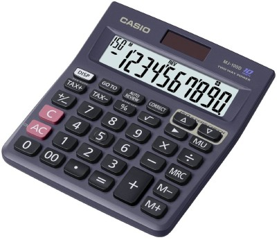 Casio MJ 100 Da Basic  Calculator