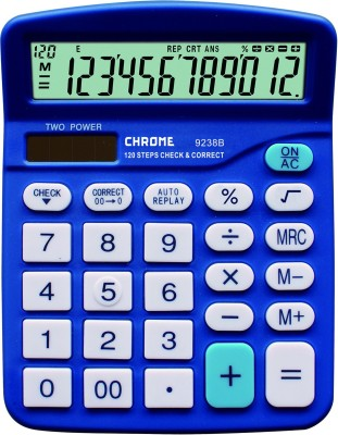 Chrome 9238B Basic  Calculator