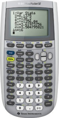 Texas Instruments TI-84 Plus SE Pocket Graphical  Calculator