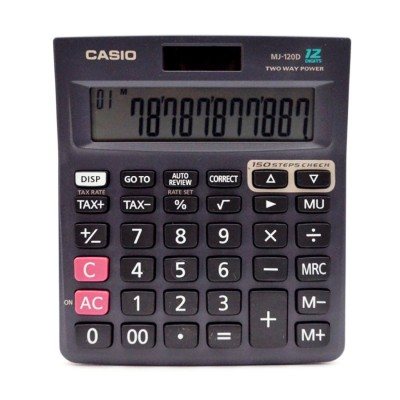 Casio MJ 120 Da Basic  Calculator