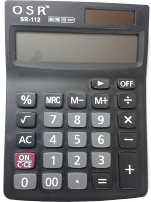 OSR SR-112 Basic  Calculator