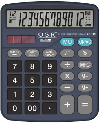 OSR SR-786 Basic  Calculator