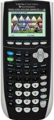 Texas Instruments TI-84 Color Silver Edition Graphical  Calculator