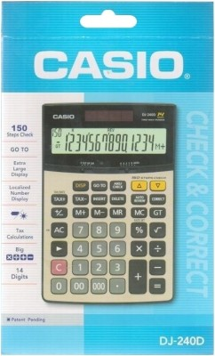 Casio DJ -240D Basic  Calculator