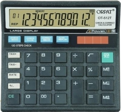 Orpat OT 512T Basic  Calculator(12 Digit)