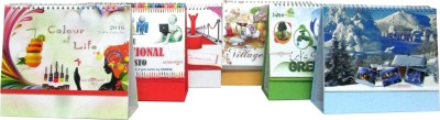 A1 NEW YEAR COMBO(PACK OF 6) 2016 Solar Calendar