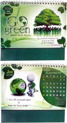 Gathbandhan GO GREEN(PACK OF 6) 2016 Solar Calendar