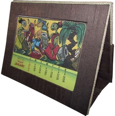 Indha Craft Patachitara art print 2016 Table Calendar