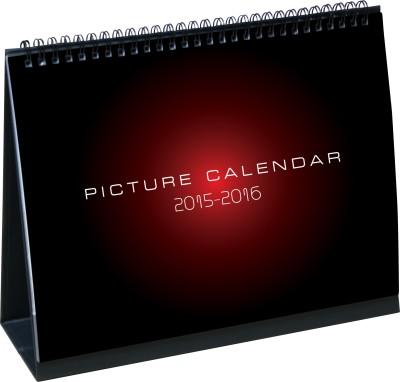Thomson Press Bird 2016 Desk Calendar Calendar(Black Red, Birds Of India)