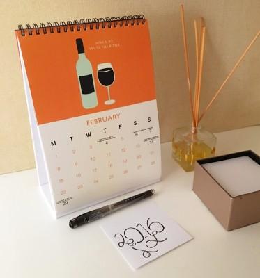 10 am Alcohol Calendar 2016 Table Calendar
