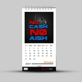 alDivo Funky Calendars 2017 Table Calend...