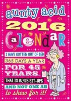 Tashan Street Aunty Acid 2016 Wall Calendar(Multicolor, Aunty Acid)