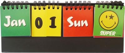 Gift-Tech SMILE DESK CALENDAR A NICE GIFT ITEM FOR YOUR DEAR ONE Perpetual Table Calendar