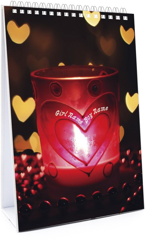 Design Buddy Love 2016 Solar Calendar(Pink, Love)